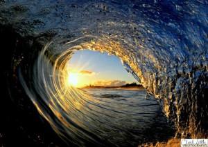 a-sunset-wave