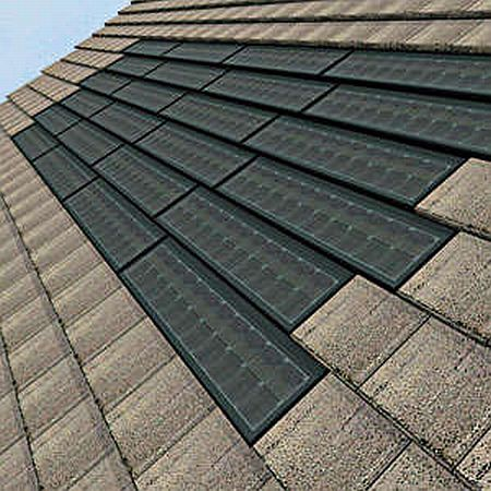Home solar panel roof shingles how to solar power your home for Cost of building a roof