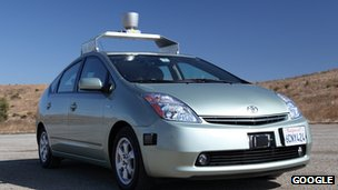 Google has been experimenting with driverless Toyota Prius cars in the US
